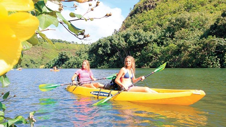 Product Secret Falls Kayak & Hike Tour