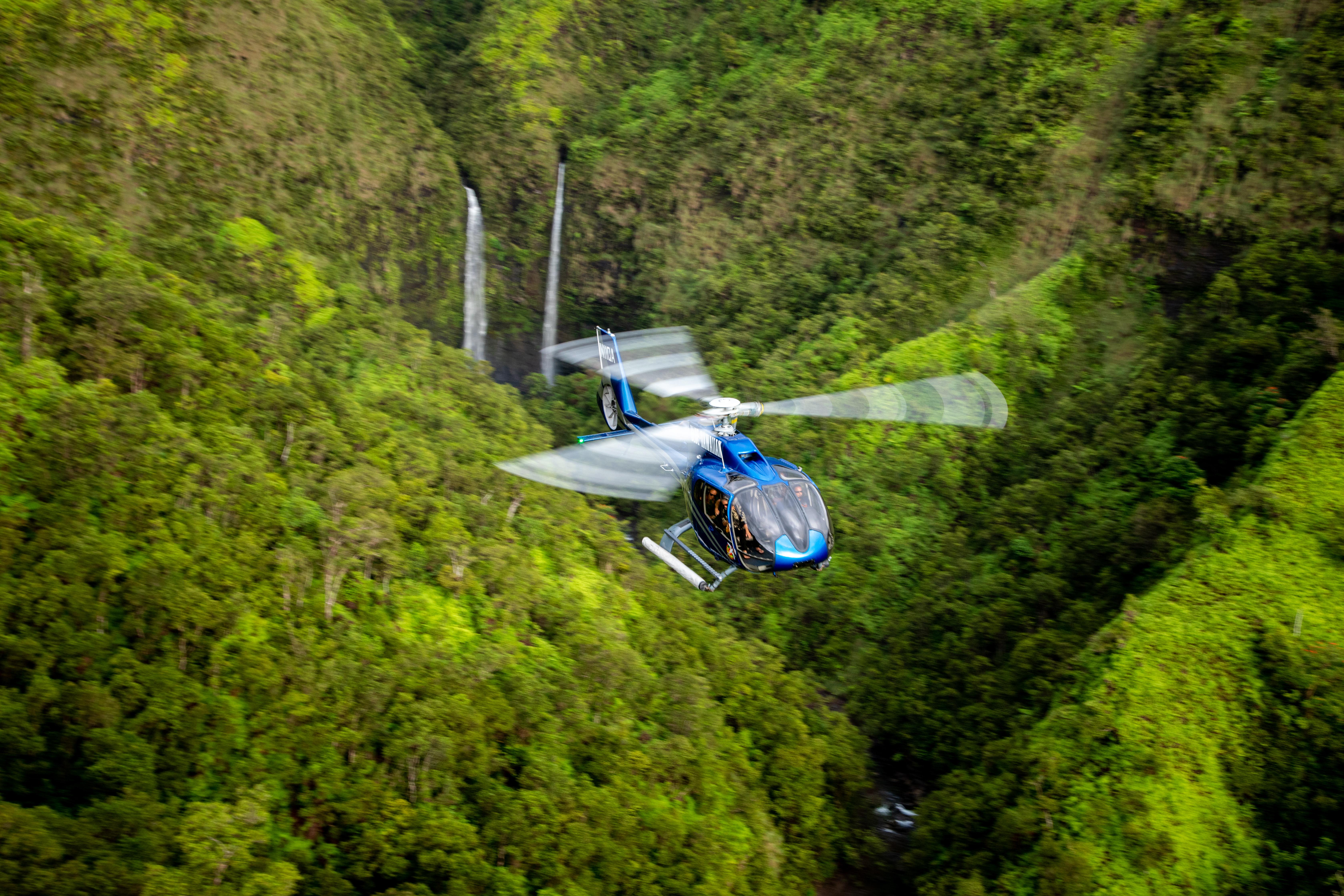 Product Kohala Coast Valleys & Waterfalls Helicopter Tour