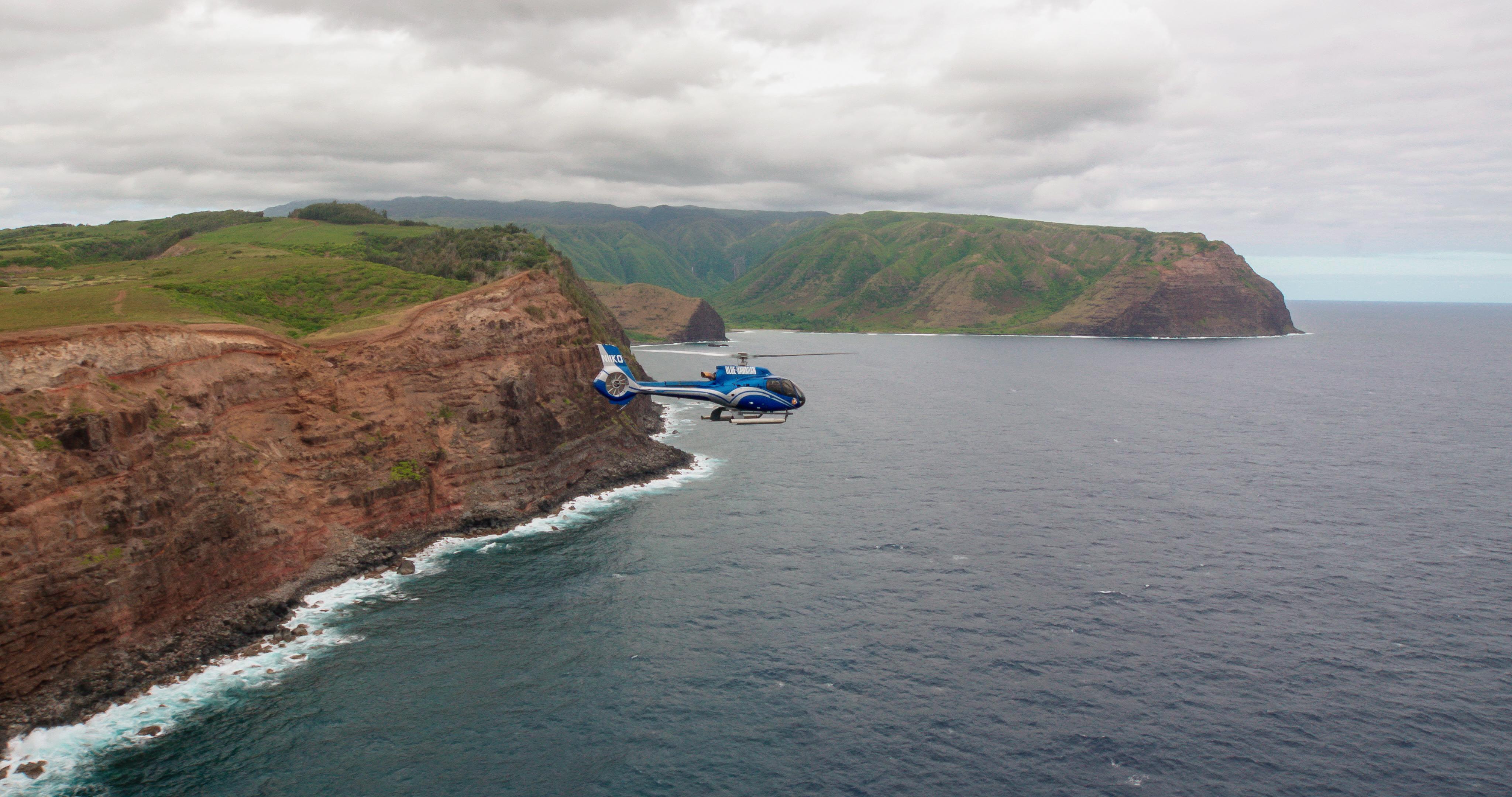 Product West Maui & Molokai Eco Helicopter Tour